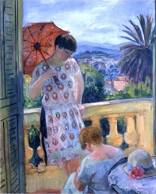 View of Esterel from the Balcony, Henri Lebasque
