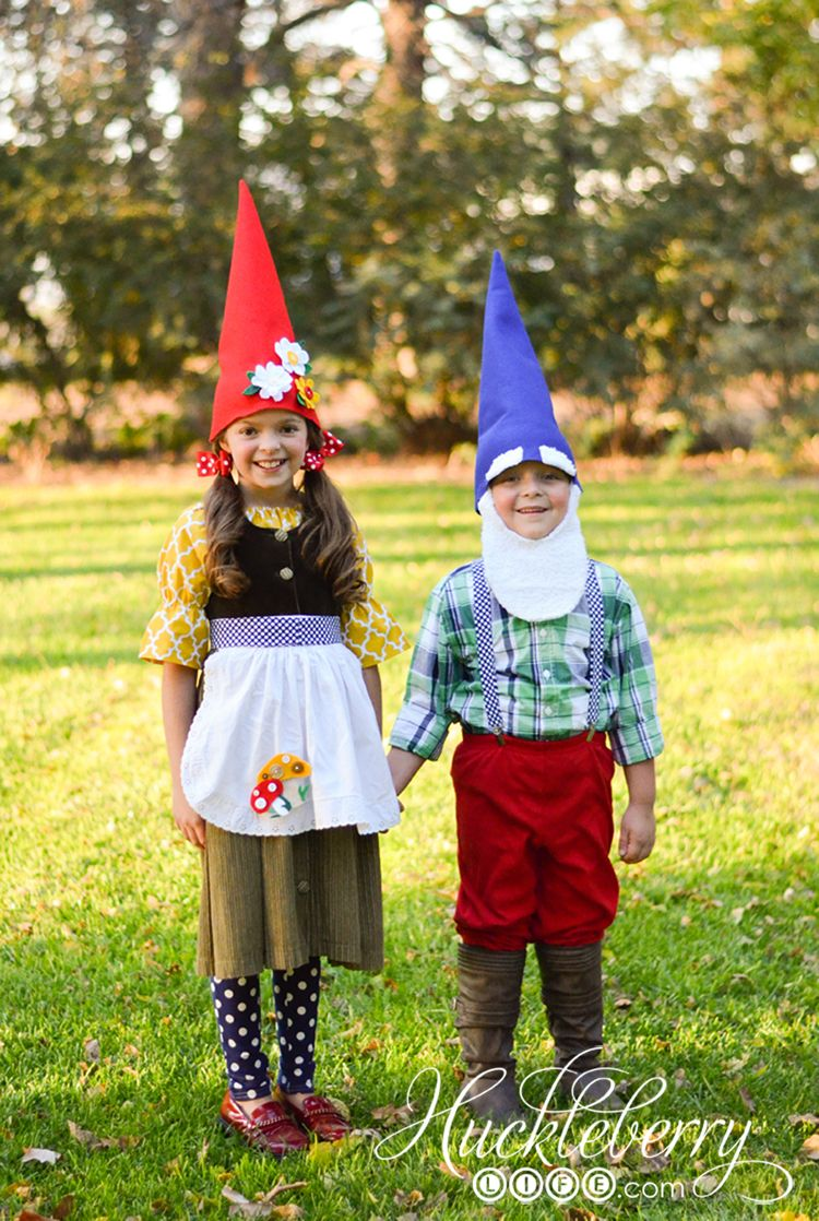 DIY Gnome Halloween Costumes | HUCKLEBERRY LIFE
