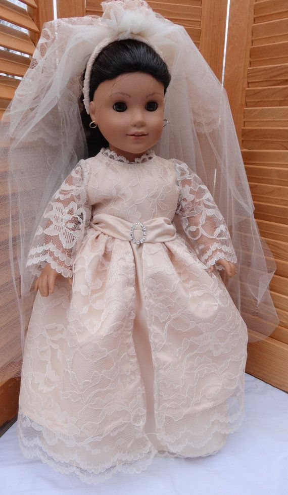 American Girl Doll Here Comes the Bride by Littlepinkswing on Etsy