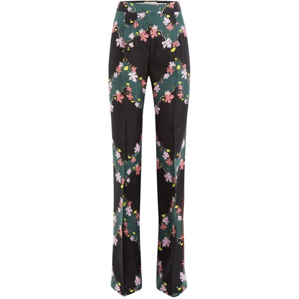 printed cropped trousers - Multicolour Emilio Pucci