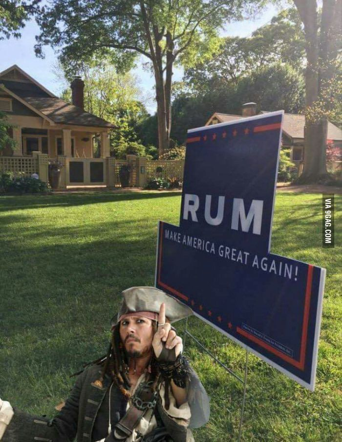 A candidate we can believe in!