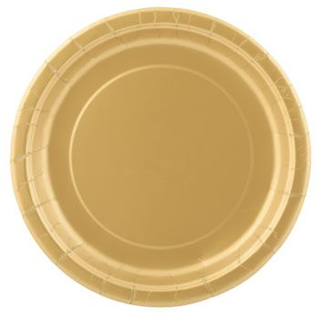 Serve up a delightful celebration on sturdy metallic dark gold paper plates. They are perfect  sc 1 st  Pinterest & Bulk Dark Gold Metallic Paper Party Plates 9 in. 20-ct. Packs at ...