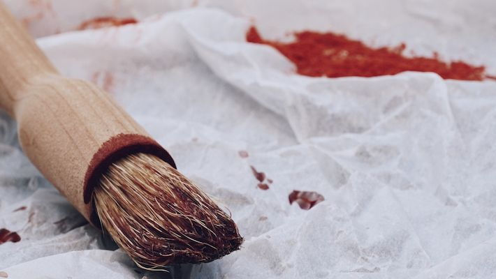 Nature's Scarlet from an African Heartwood: Dyeing with Camwood