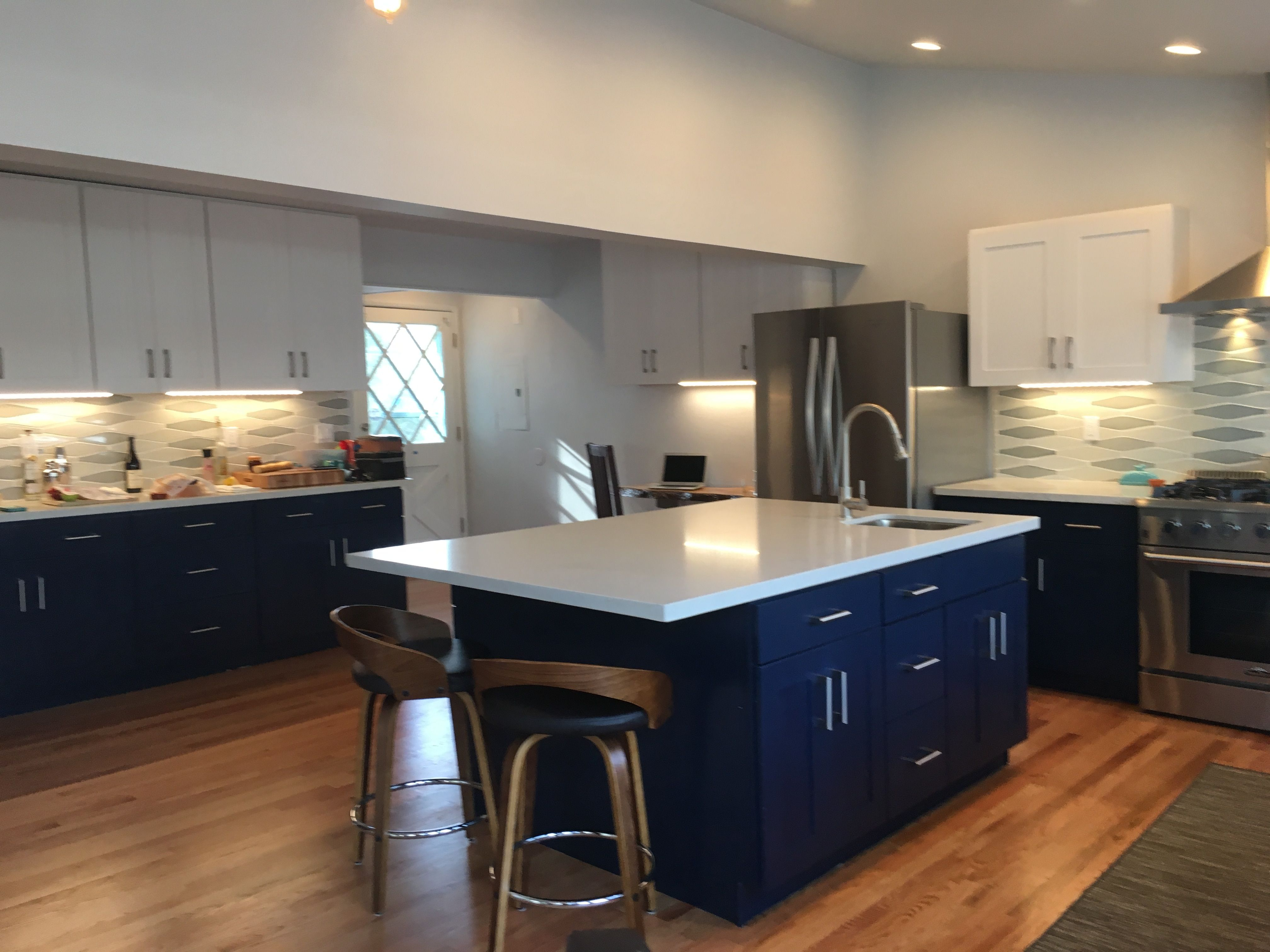 Pin by HD Design on Before & After-Modern Kitchen Remodel- N ...