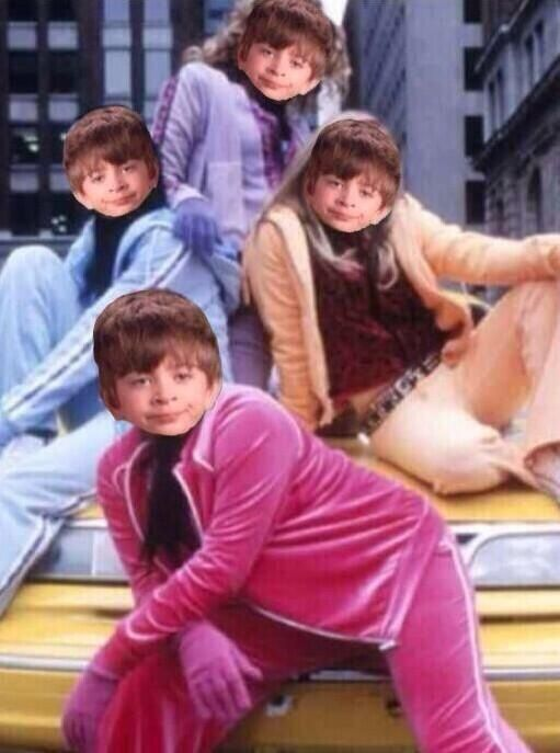 When you go out with your friends, and your outfits are on point.