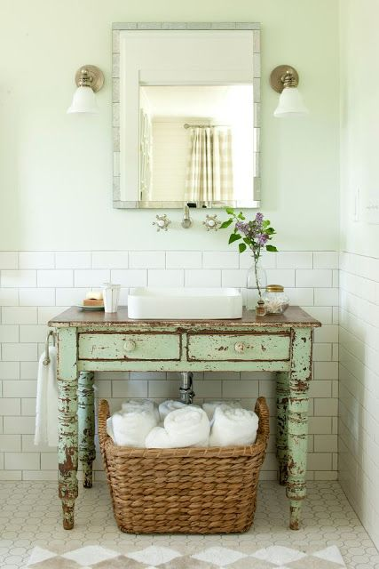 Bagno restyle   Home *inspiration*   Pinterest   Shabby, House and ...