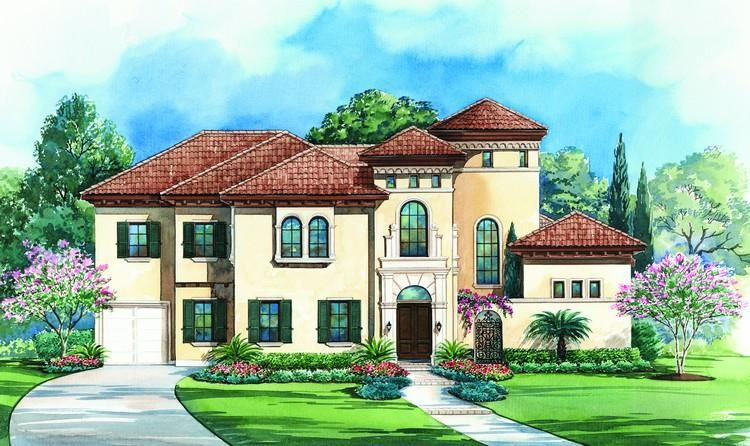 House Plan 402 01073 Luxury Plan 5 203 Square Feet 4