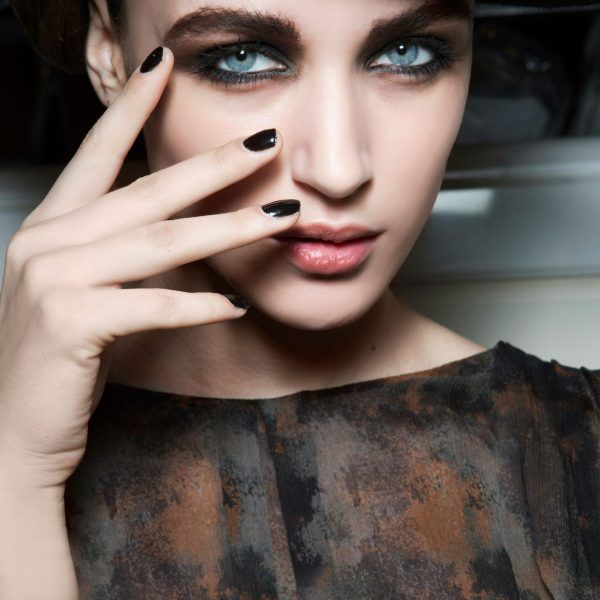 All Black Everything - Black nails definitelyaren't for everyone, but it's great to know they're now considered more chic than goth. If you're a lover of all black everything, make your nails sayit too.