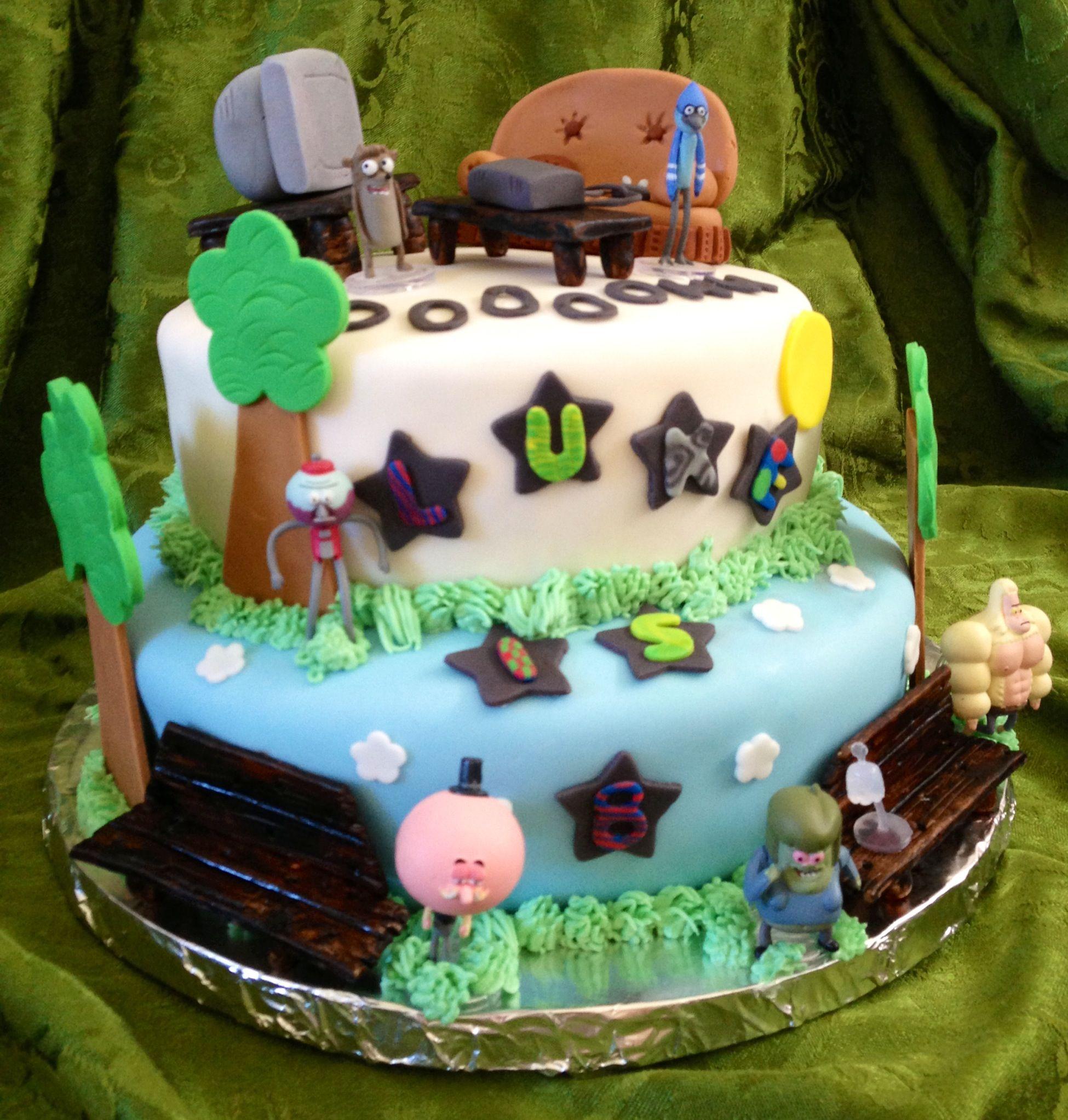 Ev's Regular Show Cake