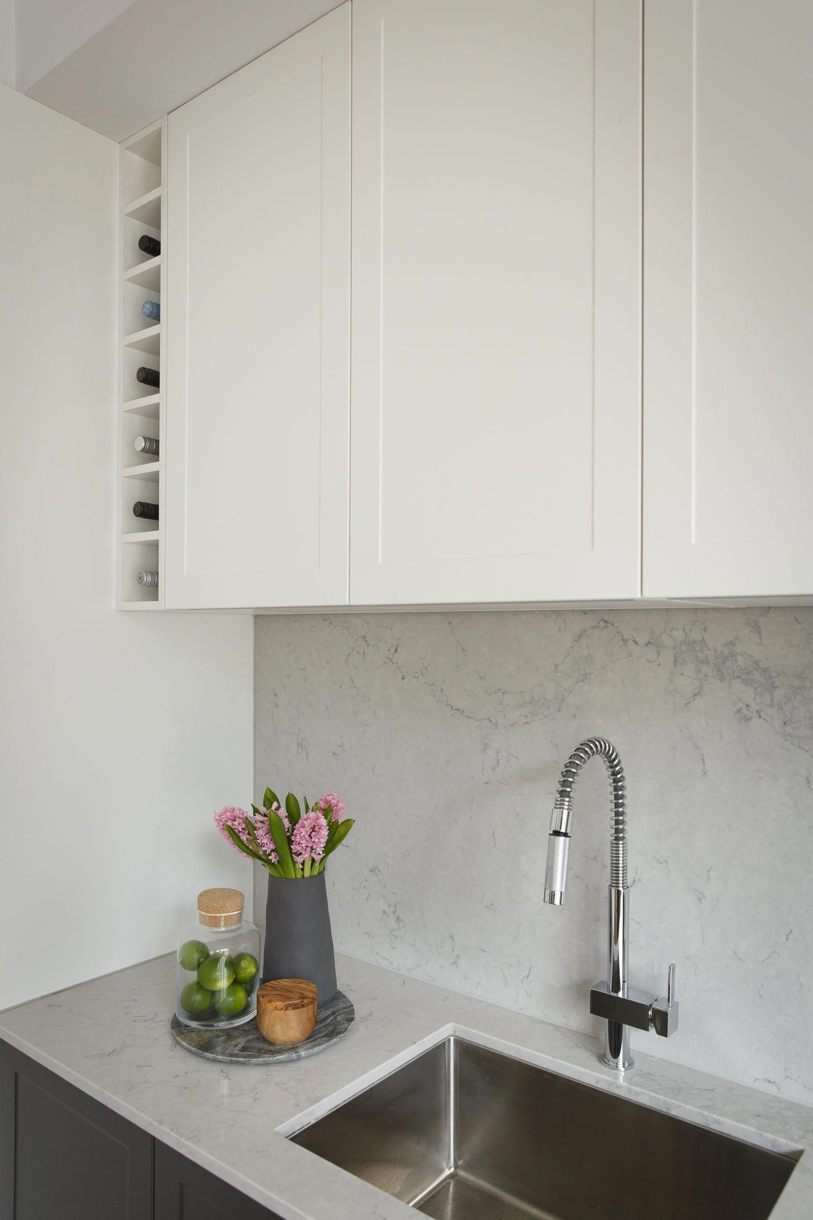 Best Luxe Contemporary Kitchen With Hidden Butler S Pantry 400 x 300