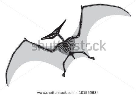 Cartoon Pterodactyl Silhouette Pterodactyl Stock Photos Illustrations And Vector Art Dinosaur Art Pterodactyl Stock Photos