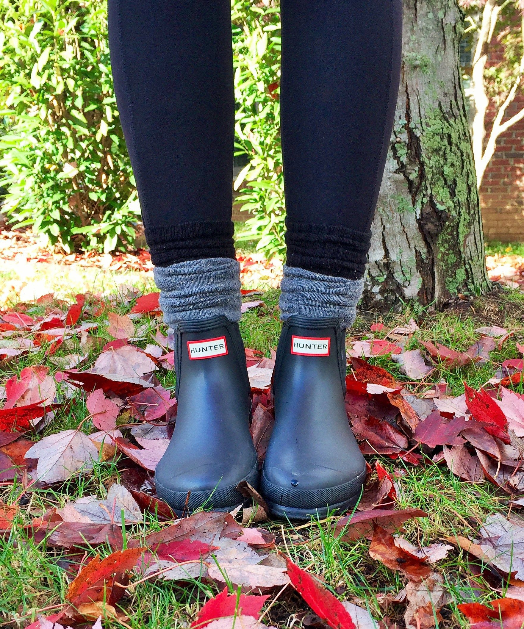 fd0e88fc347 Love the Hunter ankle boots! | ~Shoes~ | Shoes, Hunter boots outfit ...
