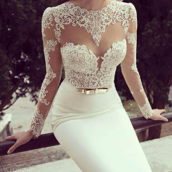 hermoso vestido para renovar votos matrimoniales | accesorios y moda
