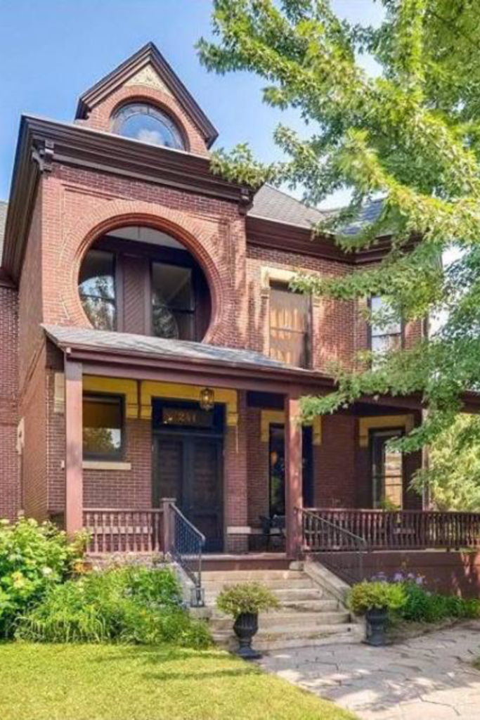 1885 Brick Mansion In Saint Paul Minnesota Captivating Houses Mansions Victorian Homes Historic Homes For Sale