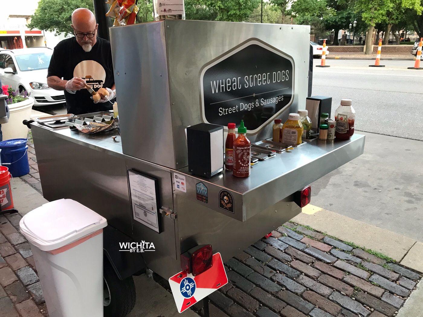Wheat Street Dogs Vegan Hot Dog Cart That Ll Surprise You Wichita By E B Vegan Hot Dog Hot Dog Cart Hot Dogs