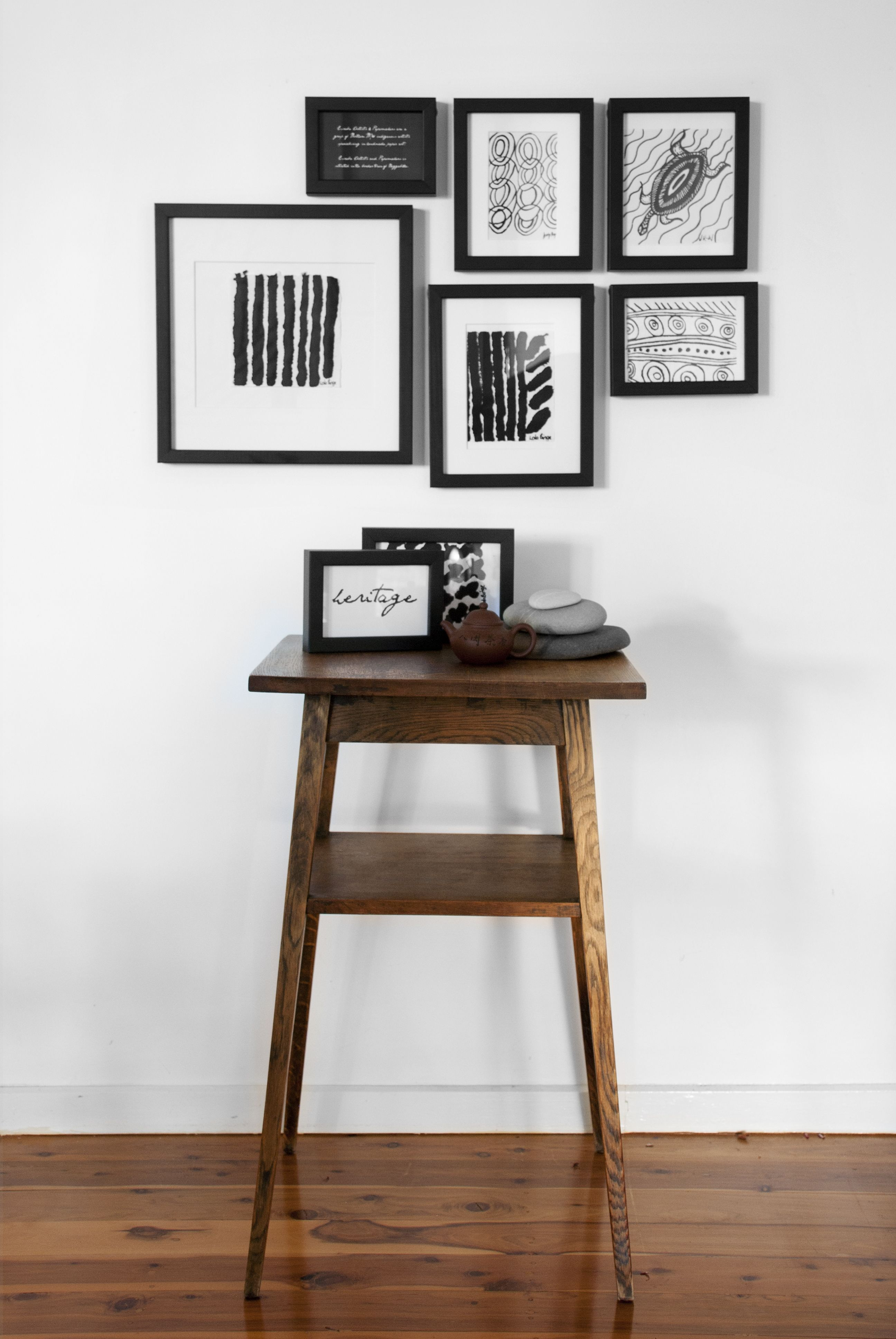One Wall, One Set Of Frames, Multiple Looks #Frames #Walls