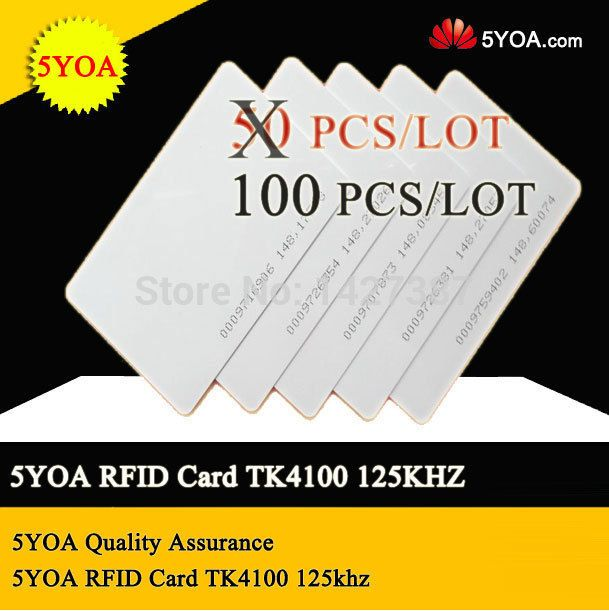 Yoa Quality Assurance Em Id Card Rfid Card  Reaction