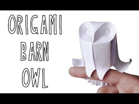 Origami Comics Rabbit (Riccardo Foschi) - Part 3: Shaping - YouTube