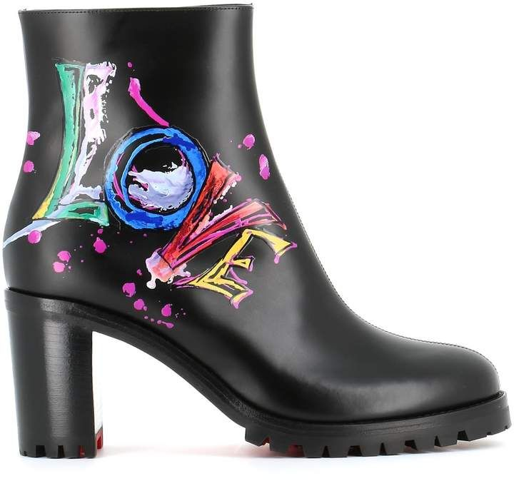 61dee337d39 Christian Louboutin Ankle Boots love Me Boot | Products | Boots ...