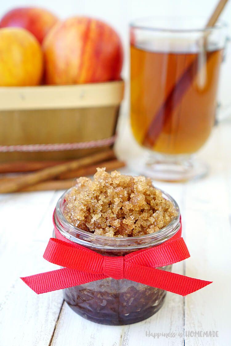 Spiced Apple Cider Sugar Scrub