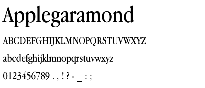 APPLE GARAMOND APK - ANDROID FONT FONT APK, fonts for android