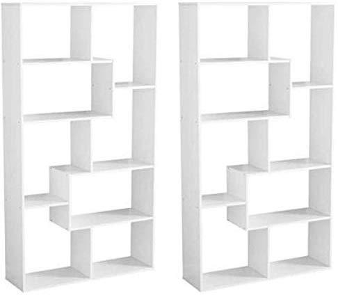 Amazon Com Mainstay Home 8 Shelf Bookcase Espresso Espresso 8