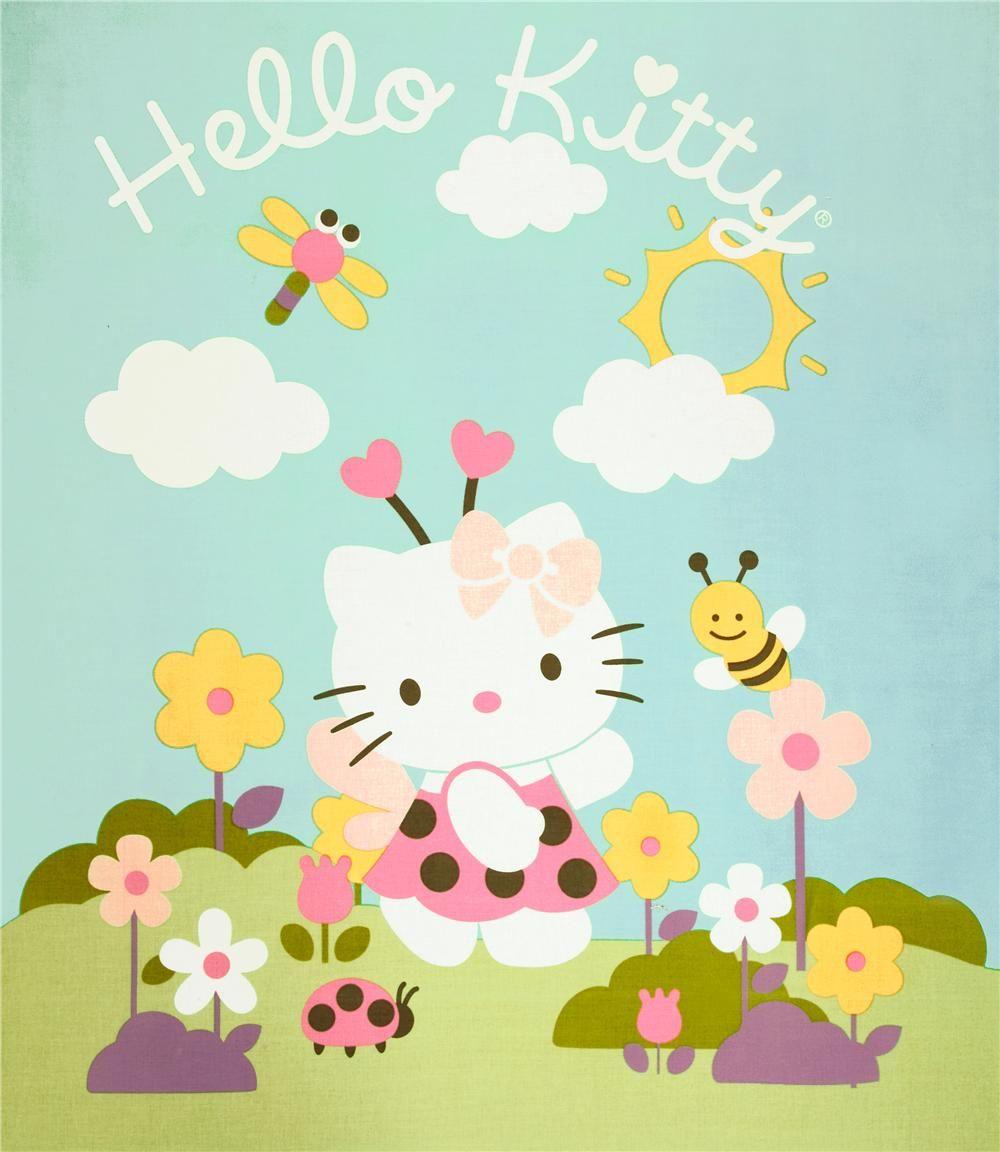 Hello Kitty Enjoying A Spring Day Hellokitty Spring Hello Kitty