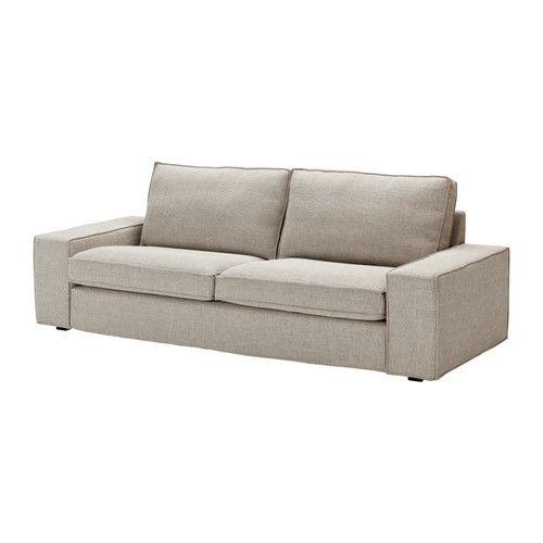 kivik canap 3 places ten gris clair ikea salon s jour pinterest canap fauteuil. Black Bedroom Furniture Sets. Home Design Ideas