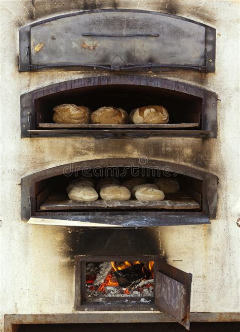 Baking Bread In Traditional Wood Oven Stock Photo Image 84654 Bread Oven Wood Oven Pizza Oven Outdoor Kitchen