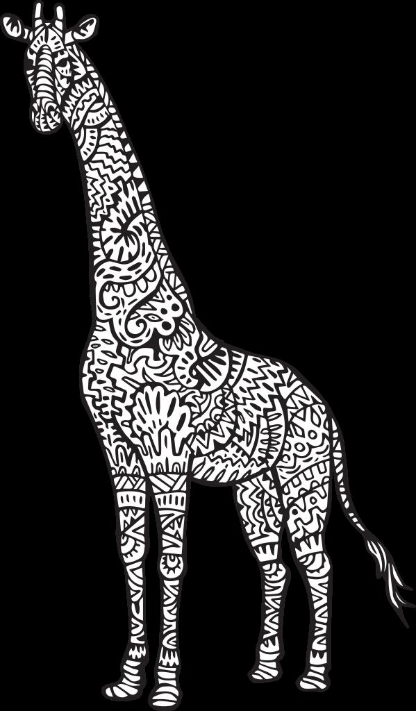 Pin By Lyn Motheral On Crochet Hook Sizes Mandala Coloring Pages Giraffe Colors Mandala Coloring