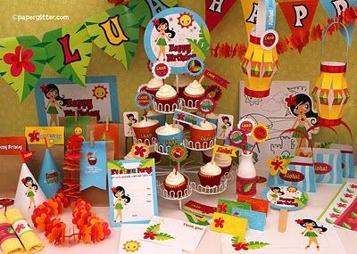 Printable Birthday Stationery Paper ~ Free printable party printable kawaii paper crafts kids crafts