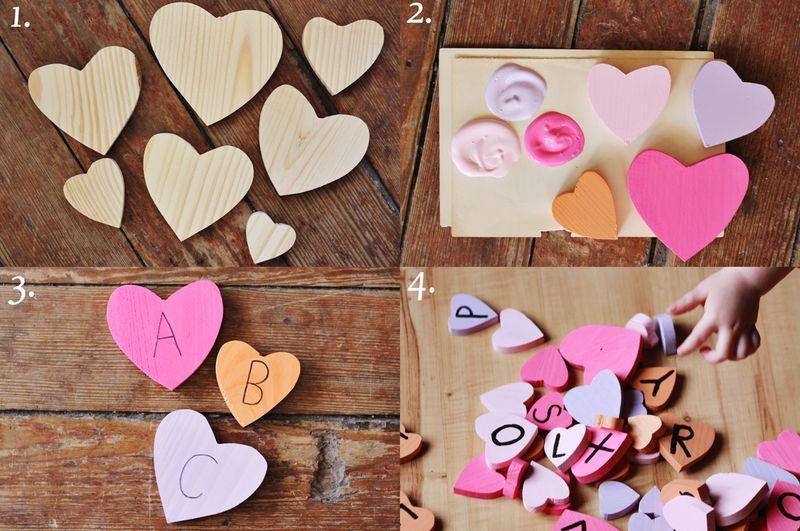 Heart Blocks For Kiddos Weekend Craft Toddler Crafts Weekend