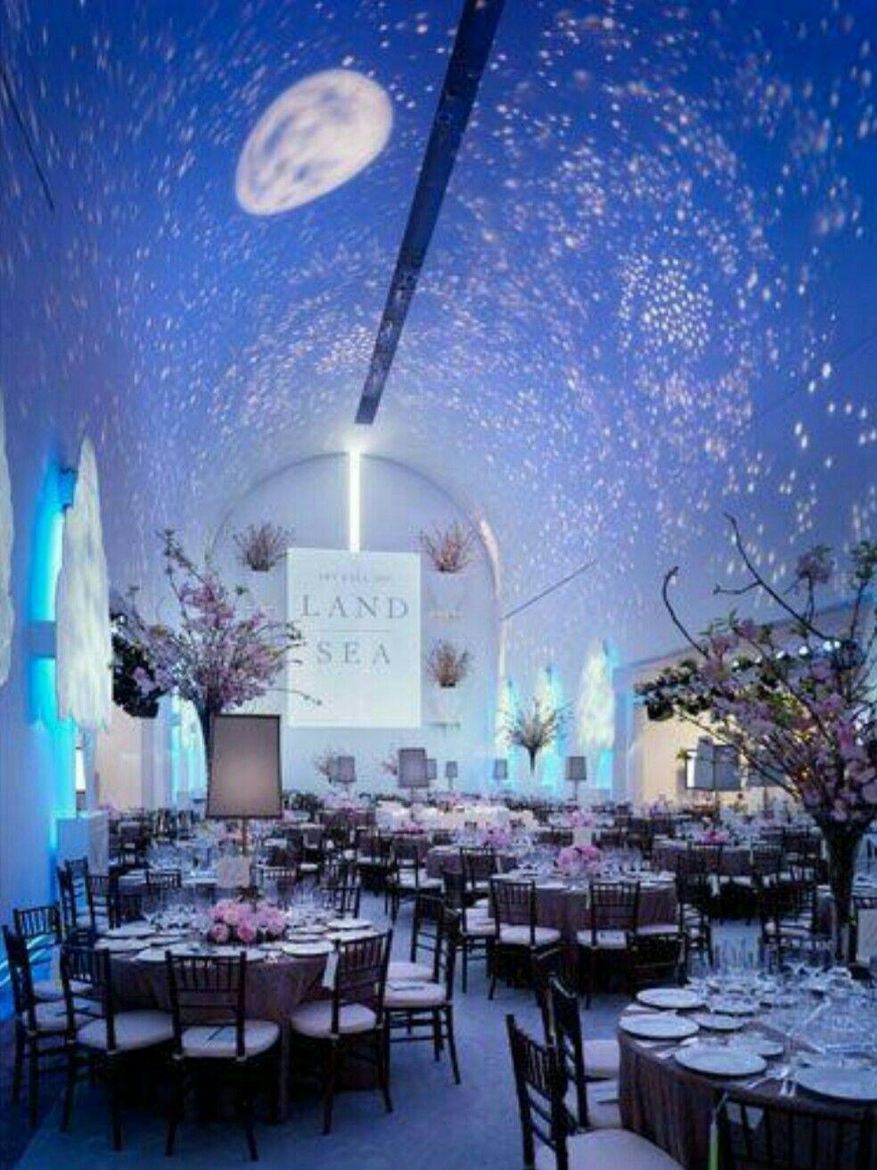Night wedding decor ideas  Beautiful Starry Night  Wedding Ideas  Pinterest  Wedding