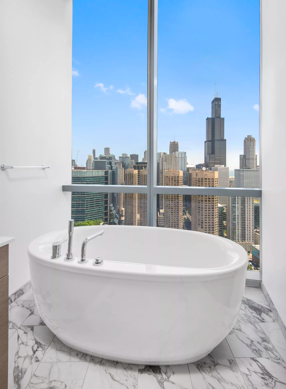 Skyhigh West Loop penthouse rents for 10K per month