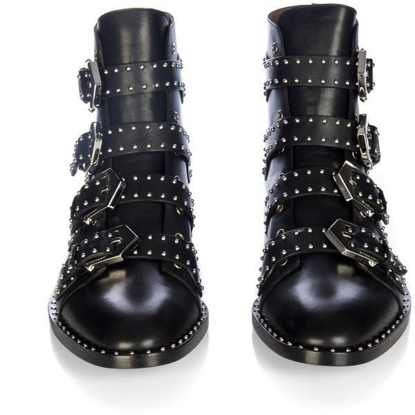 givenchy prue stud embellished leather flat ankle boots ankle boots flat black flat boots black ankle boots