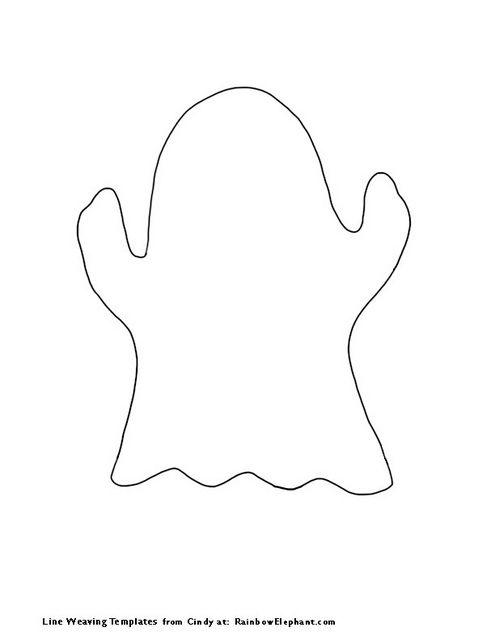 Ghost-Template by Paint Chip, via Flickr | Cricut | Pinterest ...
