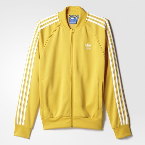 Superstar Track Jacket - Yellow | Ropa de adidas, Ropa ...