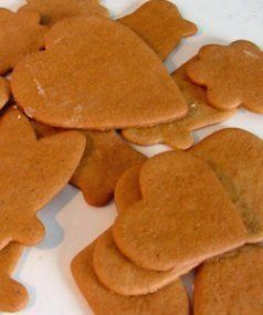 Finnish Gingerbread Biscuits Recipe For The Guests To Decorate And
