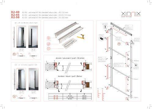 Portes battantes t l chargements xinnix door systems for Porte xinnix