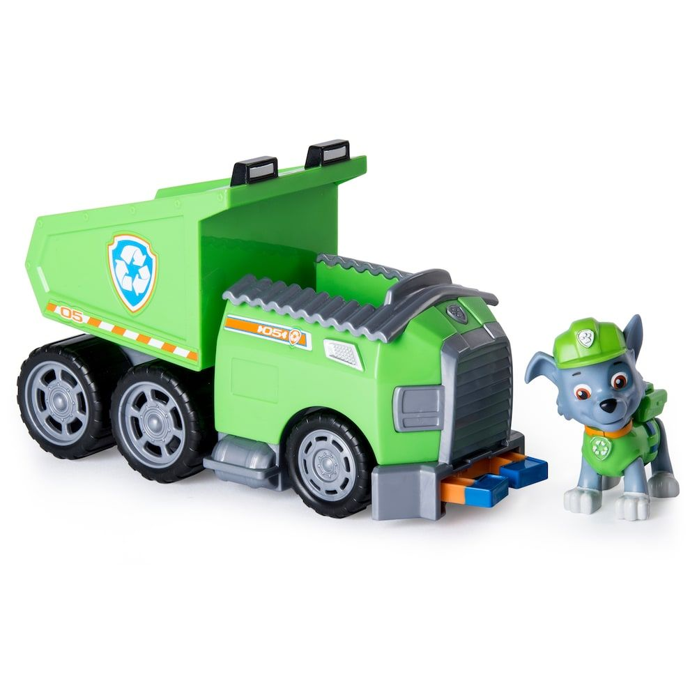Paw Patrol Rocky - Dump truck by Spinmaster | Products | Paw