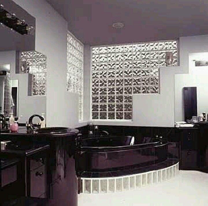 Vitroblock casa nueva pinterest ba os espejo y - Cristales para banos ...