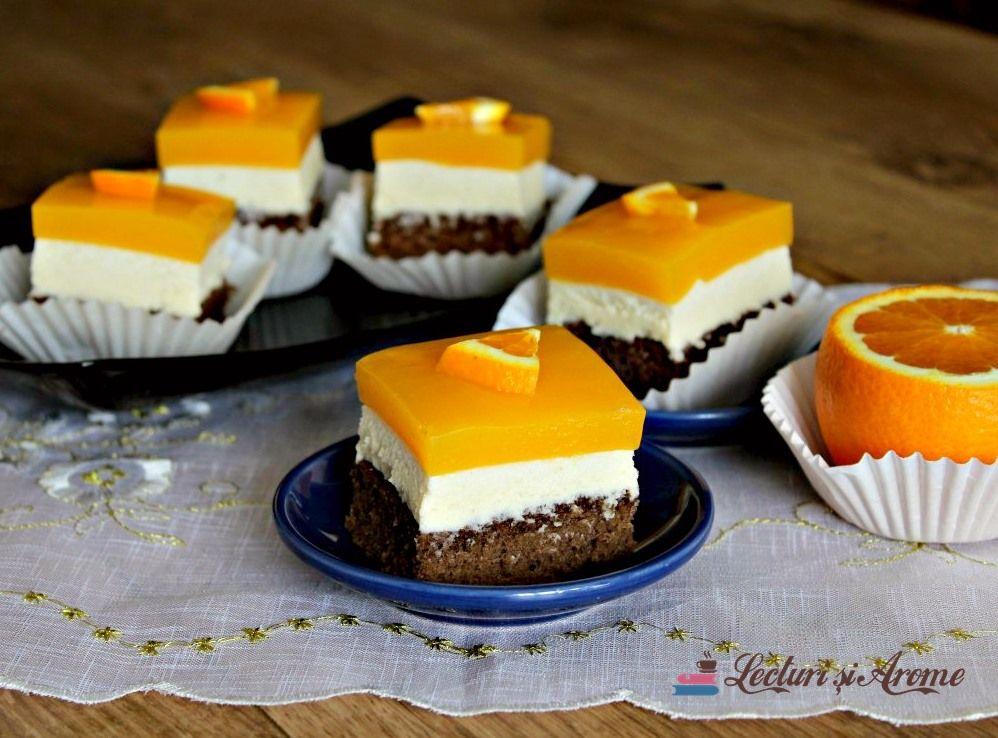 Prăjitură Fanta Cu Cremă De Brânză și Jeleu De Portocale Lecturi Si Arome Recipe Desserts Food Cheesecake