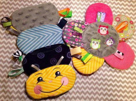 Sensory Tag Toys on Etsy, $15.99   Baby crafts, Baby ...