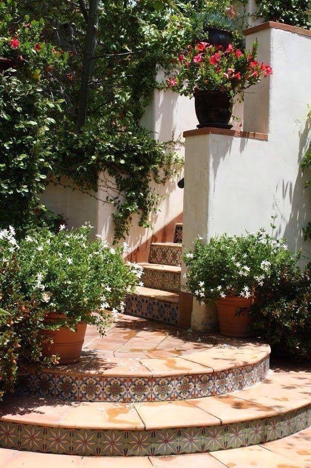 44 Mediterranean Garden Ideas Spanish Colonial Tile - SILAHSILAH.COM