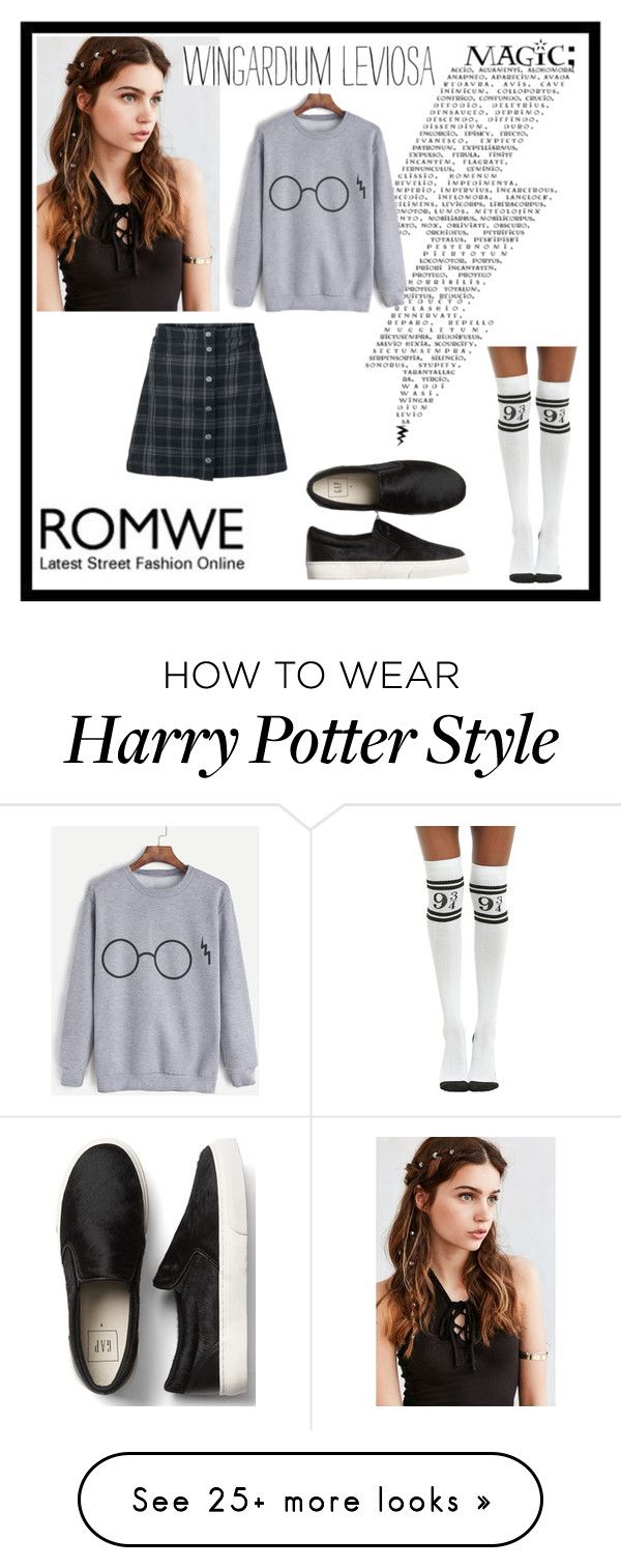 """""""Untitled #18"""" by ewelinach on Polyvore featuring REGALROSE and Warner Bros."""