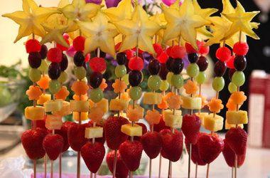 Fruit Wands Recipes, Click for Recipes