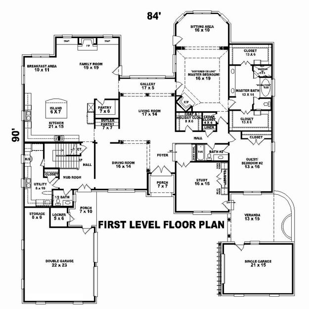 Luxury Plan: 3,766 Square Feet, 4
