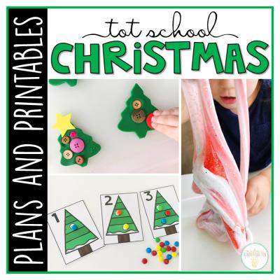 Photo of Tot School: Christmas – Mrs. Plemons' Kindergarten