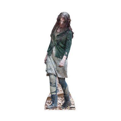 Advanced Graphics The Walking Dead Walker 02 Life Size Cardboard - life size halloween decorations