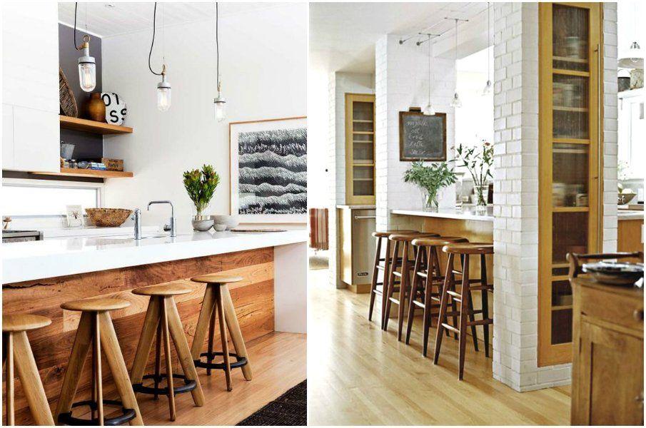 Барная стойка для кухни – баловство или практичное решение ...